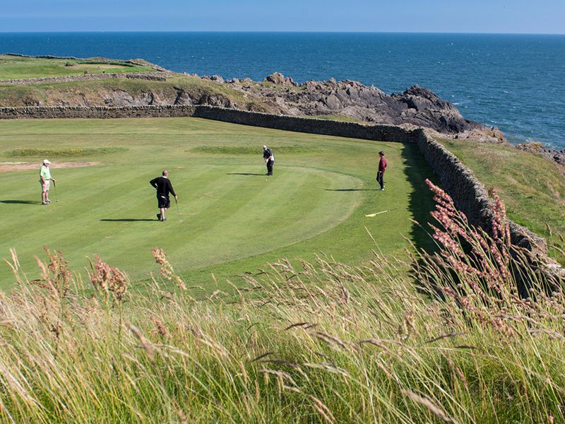 The natural coastal terrain and varying lengths of the tees change the character of each hole and the course more interesting and challenging whatever your ability and handicap.