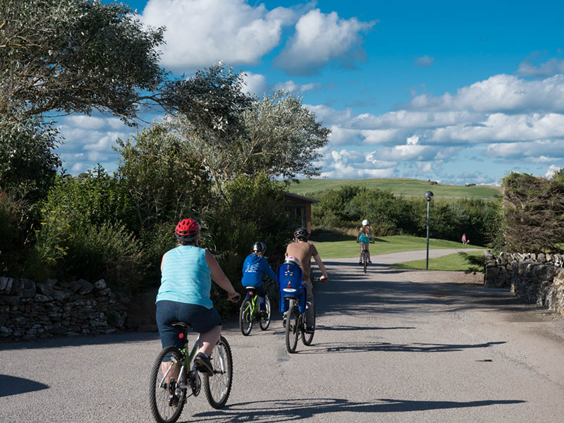 The park has plenty of roads for a leisurely cycle for all the family to enjoy