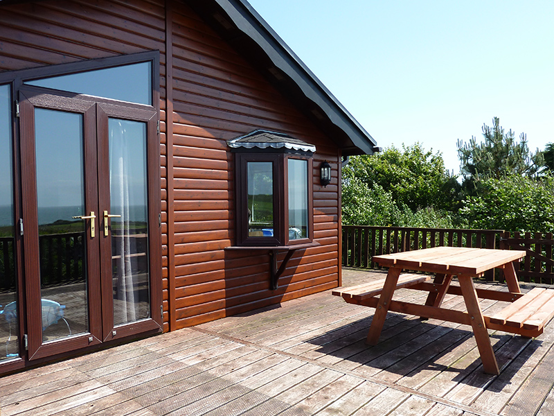 Our holiday homes have verandas and space for al fresco enjoyment