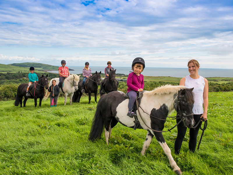 Like horses? Try our pony trekking.