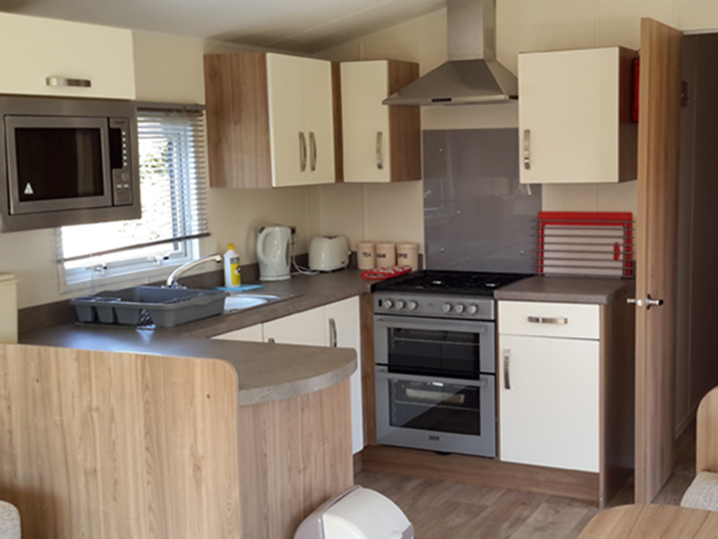 All units come with a fridge, microwave and fully equipped kitchen