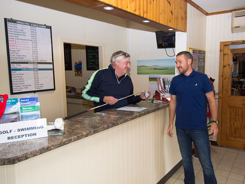 Our resident PGA Professional Jim Dougal will welcome you and ensure all your golfing requirements are met.