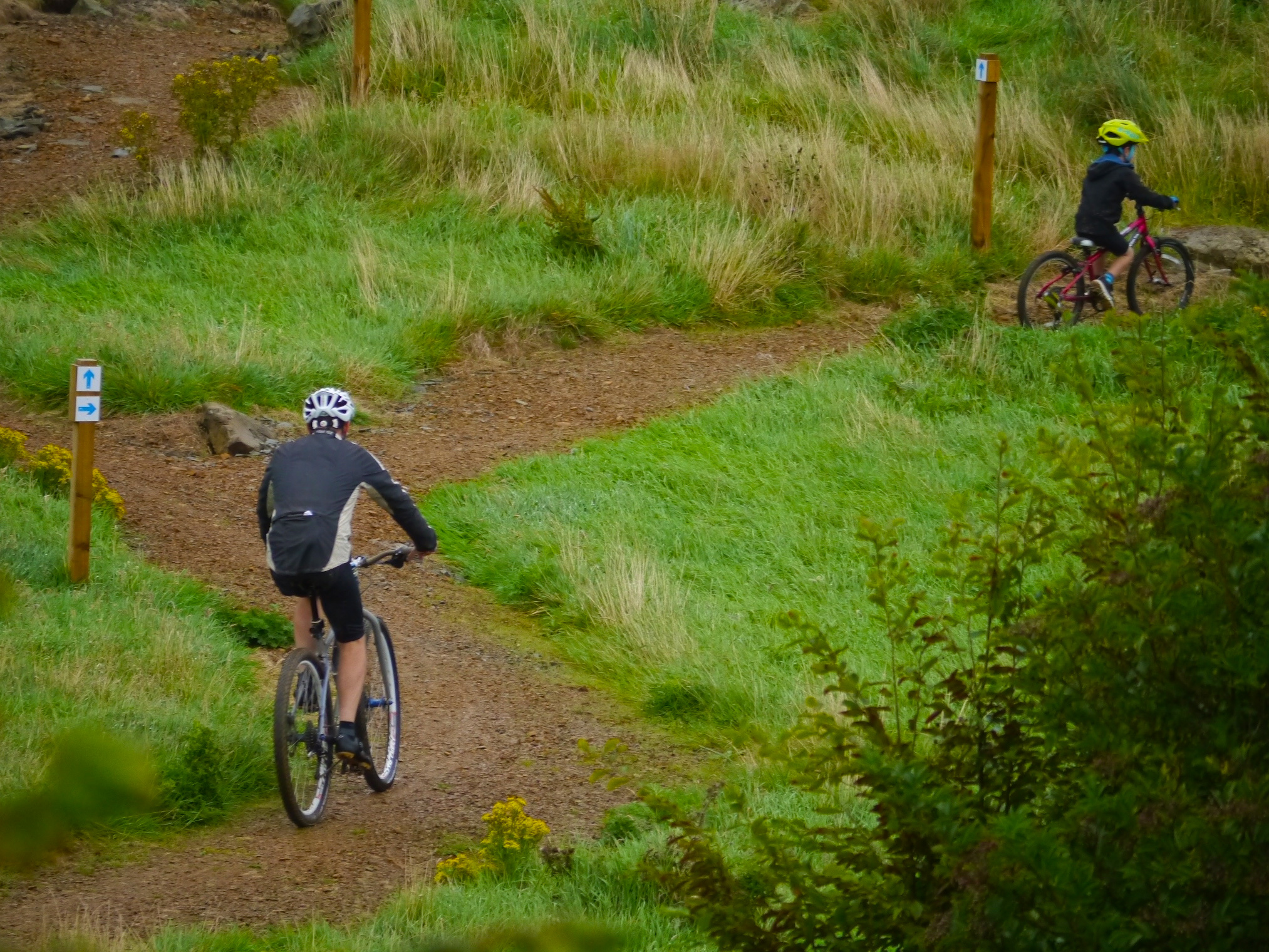 Test your skills on our mountain bike trails