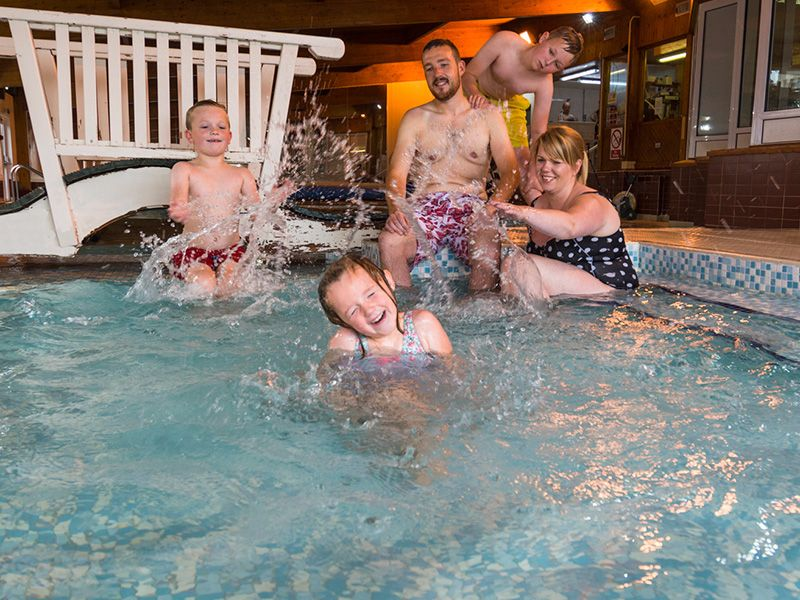 Enjoy our heated swimming pool, jacuzzi and toddlers pool for all the family to enjoy